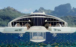 Un futur hôtel flottant aux Maldives