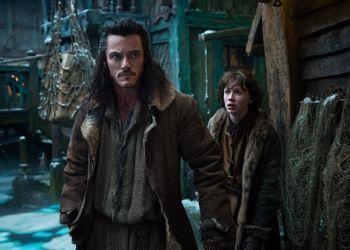 Bard l'Archer (Luke Evans) dans les pas d'Aragorn.