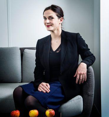 Aux commandes des Editions Fayard, Sophie de Closets, 36ans, occupe la 48e place.