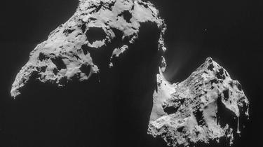 Rosetta: l'eau de la comète est bien étrange