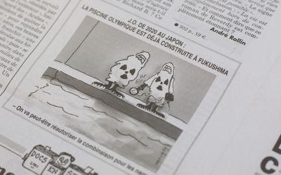 Le dessin de Mougey paru dans <i>Le Canard enchaîné</i>