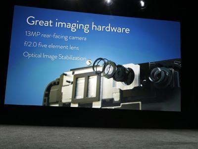 Le Fire Phone dispose d'un capteur photo de 13 mégapixels.