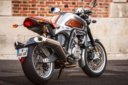 Une moto façon «haute couture».