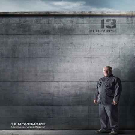 Philip Seymour Hoffman en Plutarch Heavensbee.