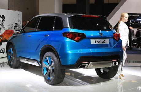 Le concept iV-4 présenté l'an dernier au salon de Francfort.