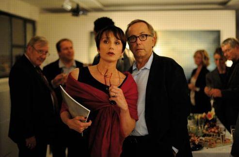 Kristin Scott Thomas et Fabrice Luchini dans<i> Dans la maison</i>. Crédits photo: Mars Distribution