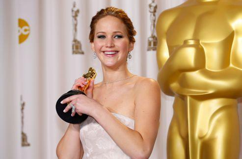 Jennifer Lawrence était nommée aux Oscars pour la deuxième fois de sa carrière.