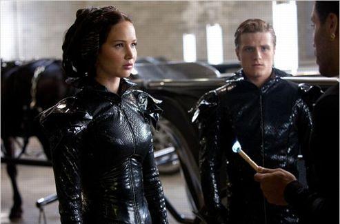 Jennifer Lawrence en Katniss Everdeen, dans <i>Hunger Games</i>. (Metropolitan FilmExport)
