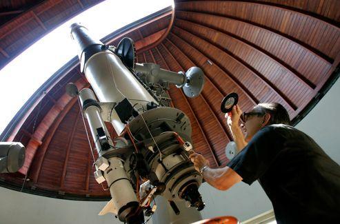L'observatoire de Castelgandolfo.