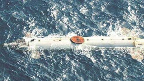 Sous-marin utilisé par des trafiquants de drogue en 2009.