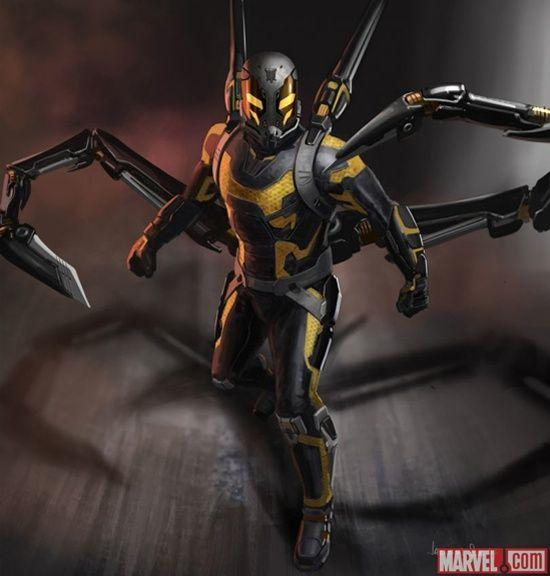 Yellowjacket sera le méchant d' <i>Ant-Man.</i>