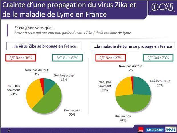 La majorité des personnes interrogées ayant entendu parler de ces deux maladies ont affirmé avoir peur de leur propagation en France.