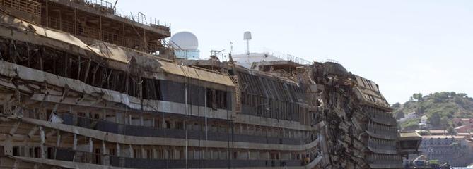 Naufrage du Concordia : des restes humains retrouvés