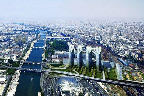 Le secteur du quartier Bercy-Poniatowski vu par Claude Vasconi.