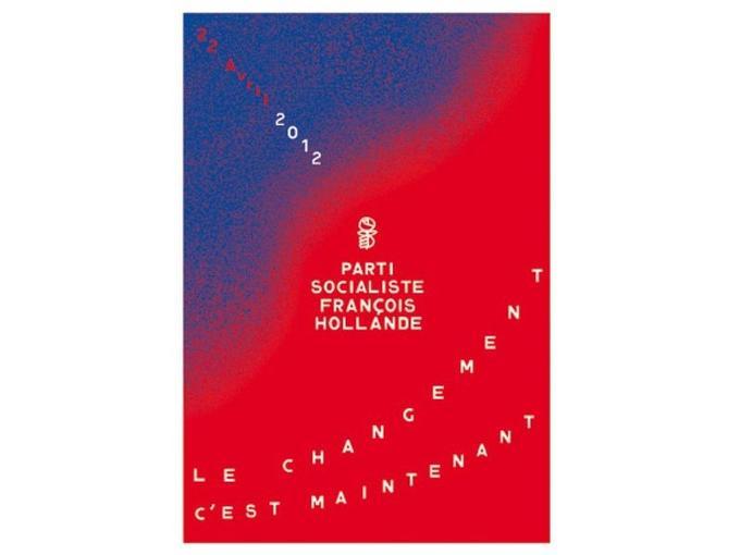 Affiche du Parti Socialiste avec François Hollande