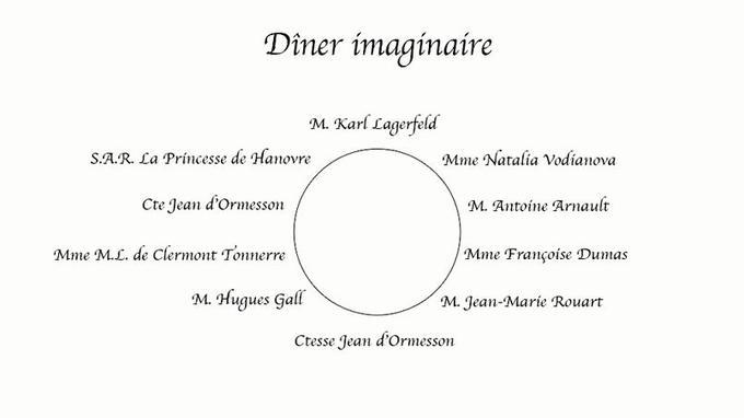 Selon Françoise Dumas, prêtresse du protocole.