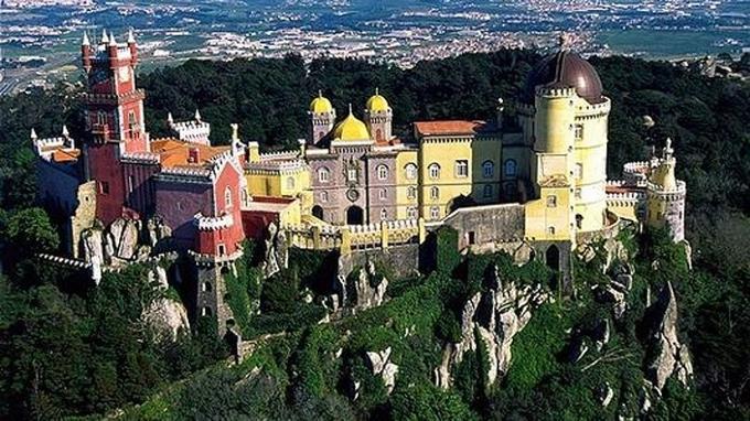 Songe d'un château d'été à Sintra