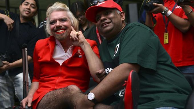 Les deux hommes se connaissent bien, Fernandes ayant travaillé pour Richard Branson dans l'industrie musicale.