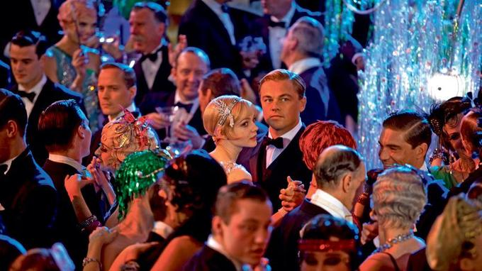 Le couple formé par Leonardo DiCaprio et Carey Mulligan (au centre) domine cette superproduction en 3D.