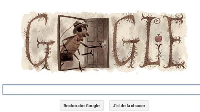 Le doodle de Google consacré à Kafka