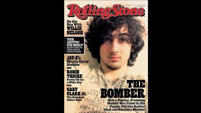 Couverture du magazine <i>Rolling Stone</i>.