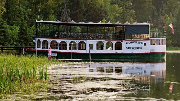 Le lac Itaska est un lieu d'excursion très apprécié des familles de la région.