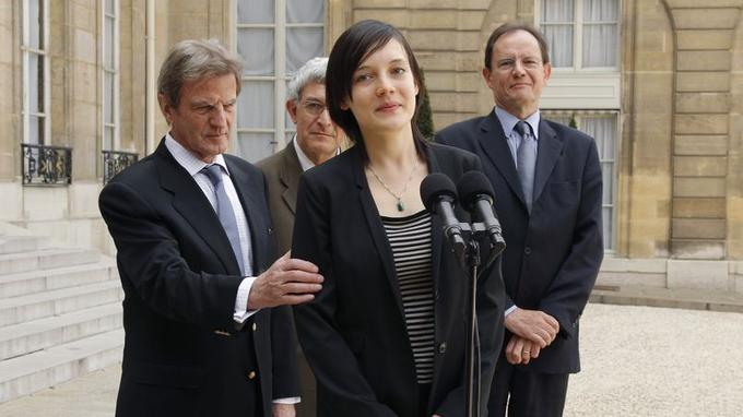 En mai 2010, Clotilde Reiss peut enfin regagner la France.