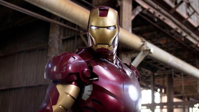 Robert Downey Jr alias Iron Man dans le film éponyme, réalisé par Jon Favreau en 2008.