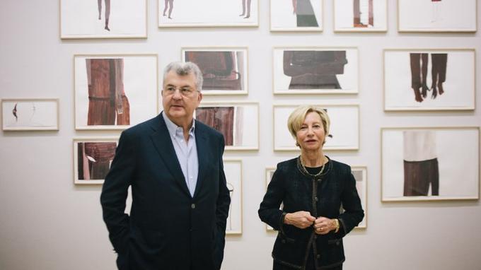Leur Prix Guerlain du dessin contemporain aura 10 ans l'an prochain. <i>Photo Lucien Lung pour Le Figaro.</i>
