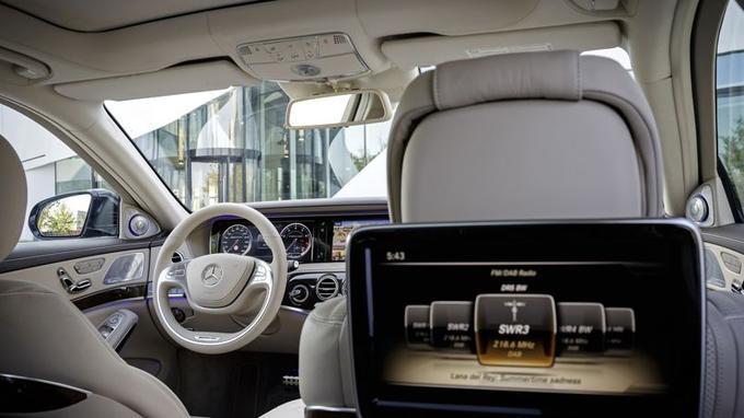 L'habitacle de la S65 AMG est un modèle de raffinement et de confort.