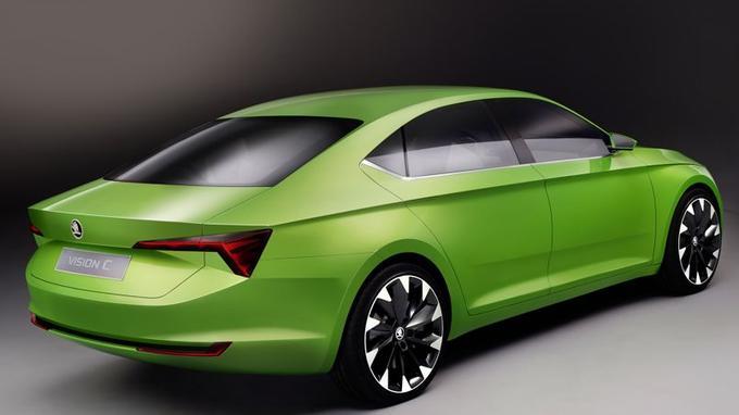 Le VisionC repose sur la plate-forme MQB commune à tout le groupe Volkswagen.