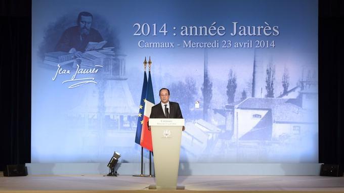 À Carmaux, ville chargée de symbole et patrie de Jean Jaurès, François Hollande tente de reconquérir le terrain perdu depuis son élection. Devenu le président le plus impopulaire de la Vème république, fragilisé par la déroute des municipales, il a prononcé un discours inspiré de la pensée de cette «haute figure du socialisme».