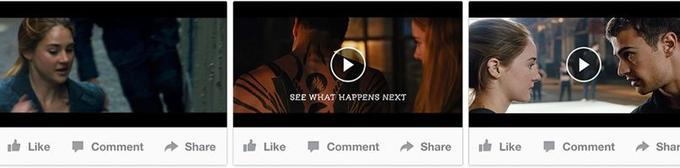 Un carroussel vidéo pour Publicités Vidéo Premium