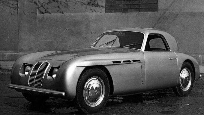 L'une des premières A6G 1500 à carrosserie Pinin Farina.