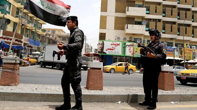 À Bagdad, la tension est forte dans les rues.