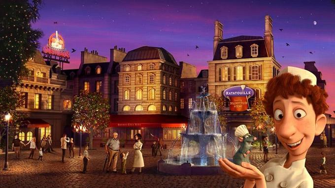 La Place de Rémy reconstituera le Paris idyllique du film.
