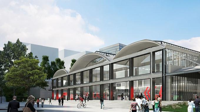 «L'objectif est de créer des lieux conviviaux et de partage pour faciliter les rencontres entre entrepreneurs. Nous respecterons l'architecture de la halle tout en rendant le lieu résolument moderne et mettons l'accent sur le confort visuel et acoustique», précise Jean-Michel Wilmotte.
