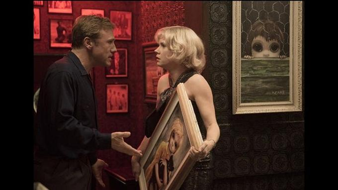 Christoph Waltz et Amy Adams en couple d'artistes dans <i>Big Eyes</i>.