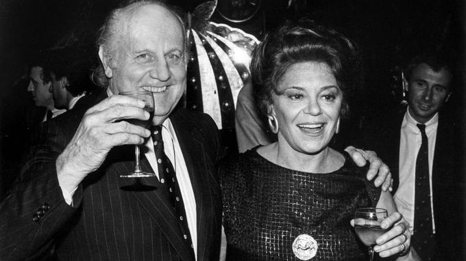 Avec Jean Castel en 1984.