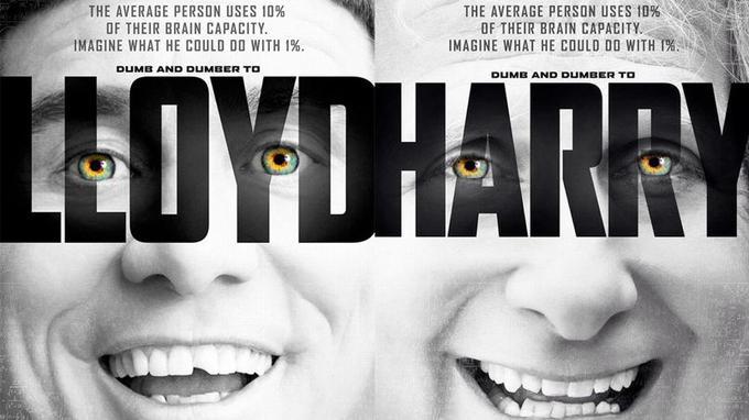 Jim Carrey et Jeff Daniels parodient Lucy pour leur prochain film: Dumb and Dumber De.
