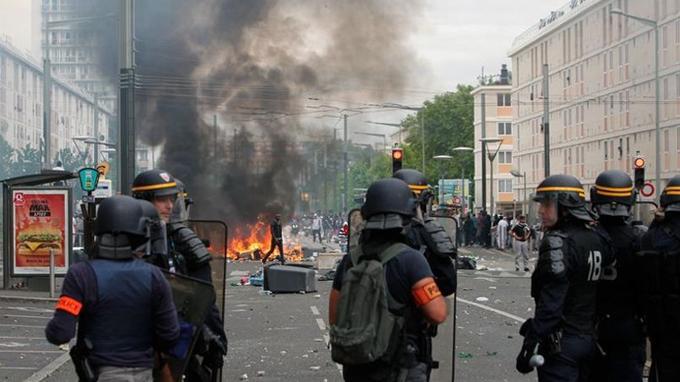 Le 20 juillet, à Sarcelles.
