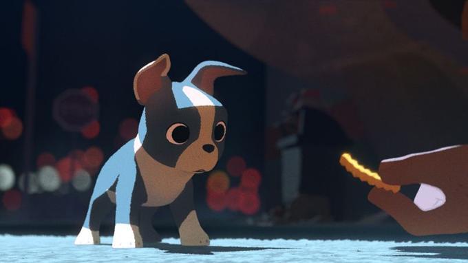 L'adorable petit chien Winston.