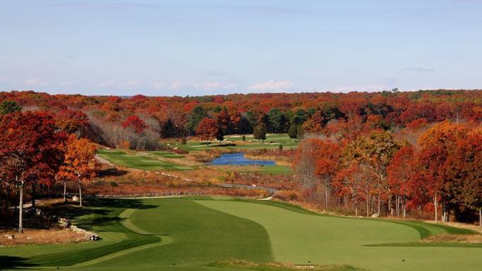 Paysage d'automne au Shelter Harbor Golf club (Crédit: Peter Bond/Flickr/CC)