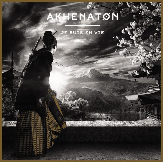 Pochette du cinquième album solo d'Akhenaton, <i>Je suis en vie</i>.