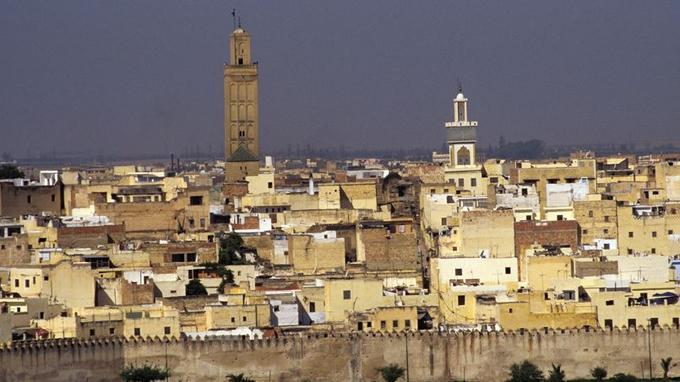 La ville de Meknès.