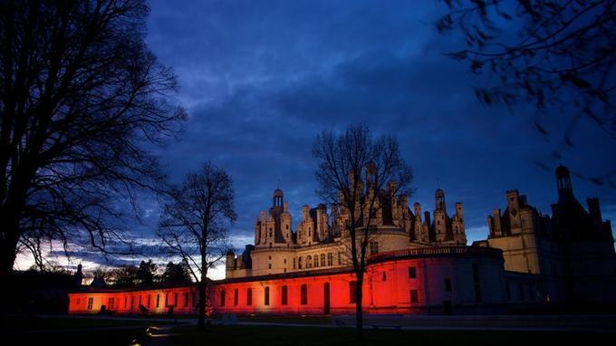 Coloriage Chateau Vaux Le Vicomte.Des Chateaux De Conte De Fees
