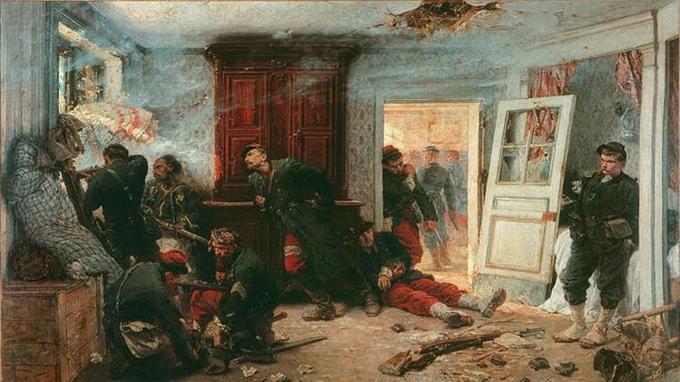 Les Dernières Cartouches (1873), tableau d'Alphonse de Neuville