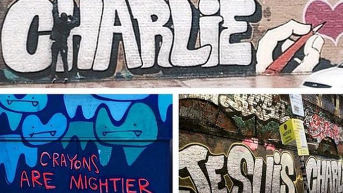 Dans toutes les villes européennes, comme ici à Londres, les hommages se multiplient.