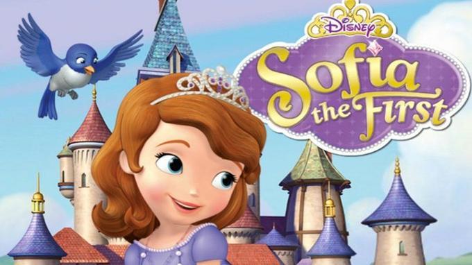 La princesse Sofia des studios Disney.