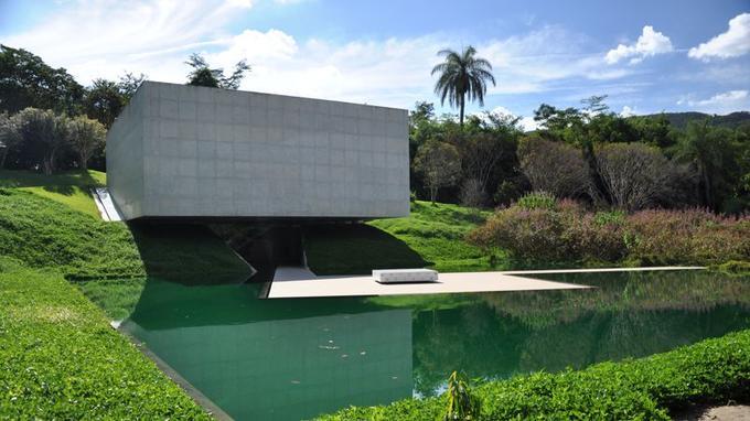Art contemporain et jardin botanique se mélangent parfaitement à l'exemple de ce pavillon. (Crédit: Melado/Flickr/CC)